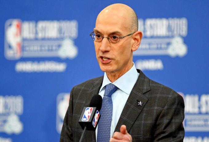 Adam Silver στο SDNA.  NBA-FIBA σχέση առաջին ρεκόρ για το πρώτο μισό της σεζόν